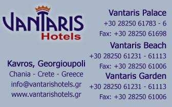 Vantaris Hotels