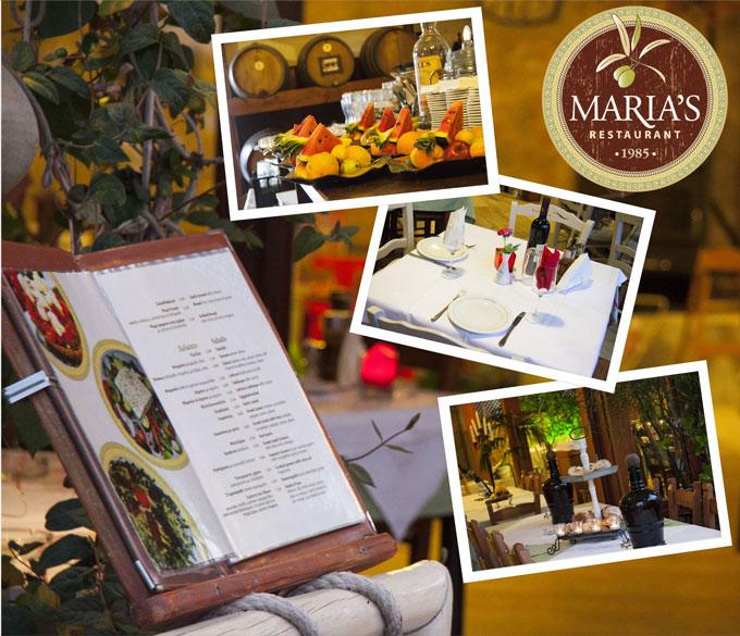 Marias Restaurant Stalos