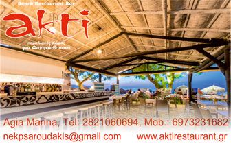 Restaurant – Beach Bar Akti