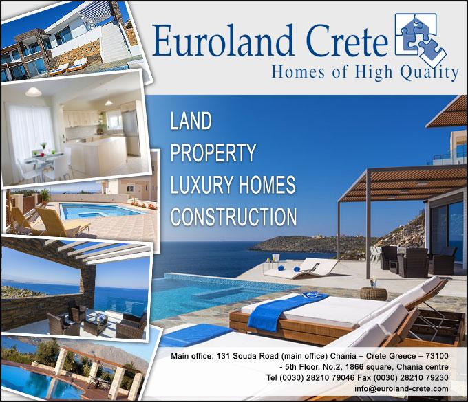 Euroland Crete | Πωλήσεις Ακινήτων στην Κρήτη