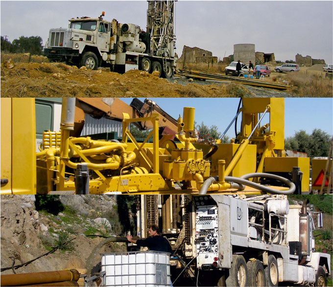 Edafomichaniki Crete – Geotechnical Foundation Works, Water Wells and Energy-saving Projects in Crete