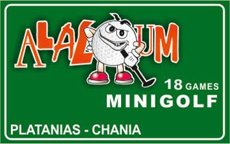Alaloum Platanias – Mini Golf 18 Games