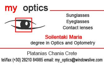 My Optics – Sunglasses – Eyeglasses – Contact lenses