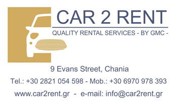 Car2Rent – Renta a Car in Chania