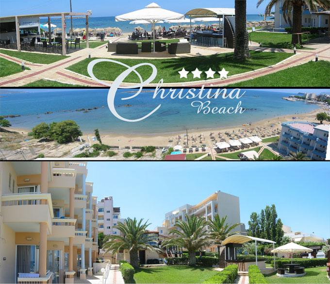 Christina Beach – Hotel in Nea Chora