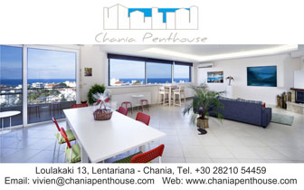 Chania Penthouse – Luxury apartmant in Lentariana