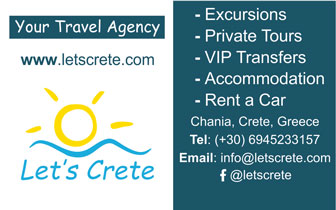 Let's Crete – Excursions, Activities in Chania