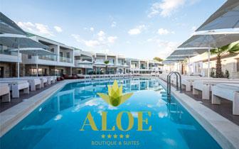 Aloe Suites – Πολυτελές Ξενοδοχείο στην Αλμυρίδα