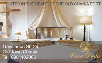 Casa Perla – Suites and Luxury Rooms in Chania