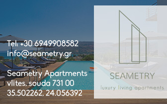 Seametry apartments luxury living in Chania Souda