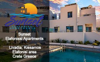 Sunset Elafonissi – Luxury Apartments