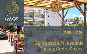 Inea Hotel – Rooms and Suites in Agii Apostoli Chania