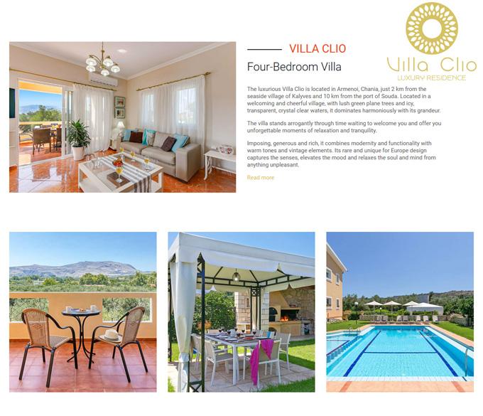 Villa Clio – Luxurious Villa in Chania