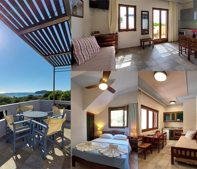 DOMA – Møblerte leiligheter i Falassarna