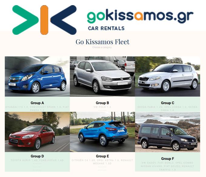 GoKissamos – Ενοικιάσεις Αυτοκινήτων στην Κρήτη