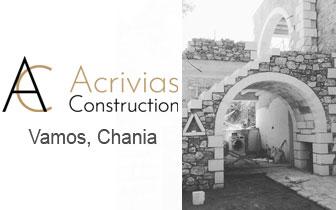 Acrivias Construction Group – Bygging og renovering av hus i Chania