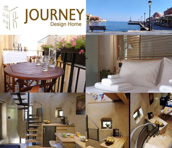 Journey Design Home – Πολυτελές Σπίτι στο Ενετικό Λιμάνι Χανίων