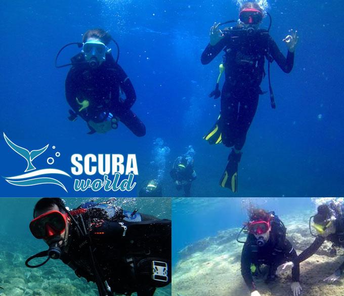 Scuba World – Καταδυτικό Κέντρο στα Χανιά